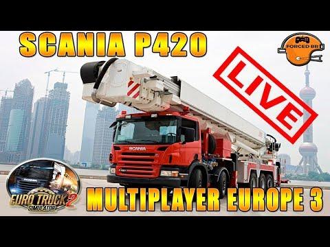 LIVE EURO TRUCK SIMULATOR 2 MULTI PLAYER EUROPE 3