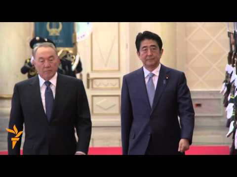 Abe Wraps Up Central Asia Tour