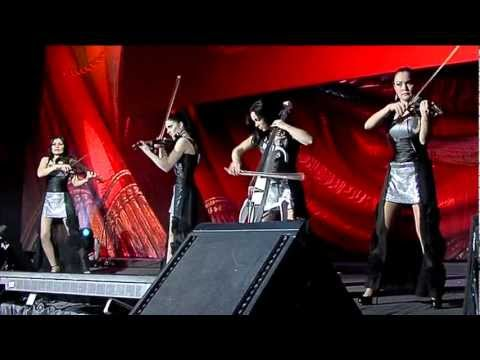 Electric string quartet Asturia - New 2012 Year