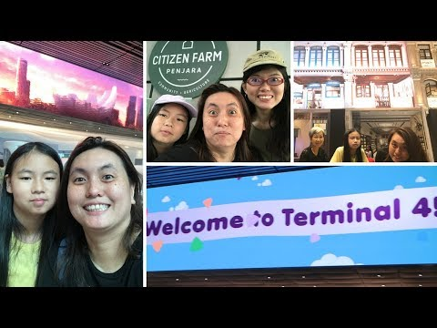 Changi Airport Terminal 4 (T4) Open House Tour & Citizen Farm Open House - Two in ONE!