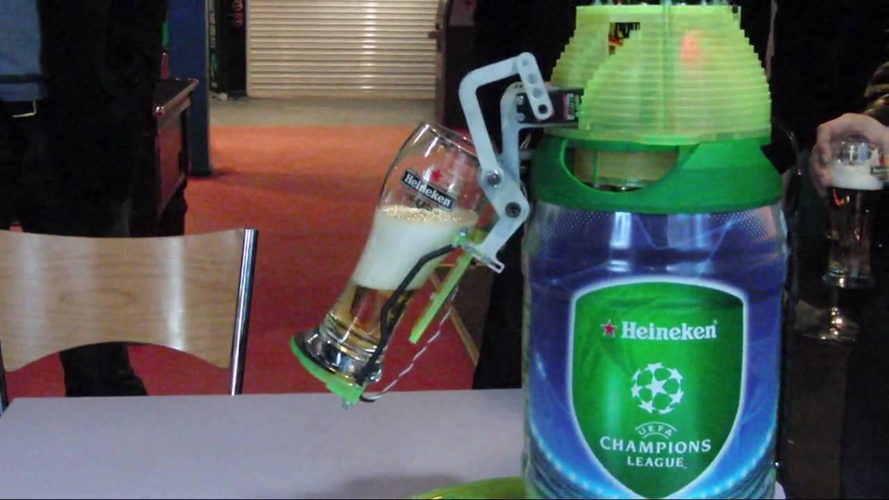 heineken beer robot middlesex kinetica official video youtube
