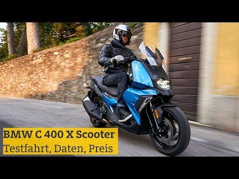 BMW C 400 X Scooter: Testfahrt, Daten, Preis | ADAC 2018