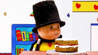 Caillou the cake master | Funny Animated cartoons Kids | Caillou Stop Motion | Cartoon movie