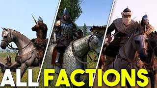 ALL Factions In Mount and Blade II Bannerlord - Analysis and Overview