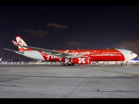 AirAsia X Indonesia Inaugural Flight at CSIA Mumbai