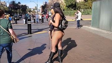 Walking in Las Vegas - Las Vegas BLVD - Downtown