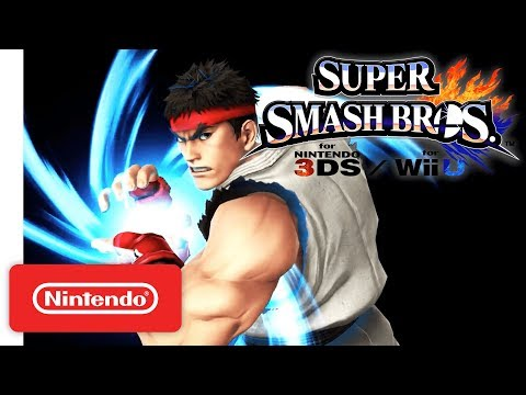 Street Fighter's Ryu joins the Super Smash Bros. squad