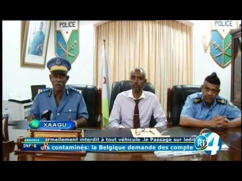 Télé Djibouti Chaine Youtube : JTSomali du 07/08/2017