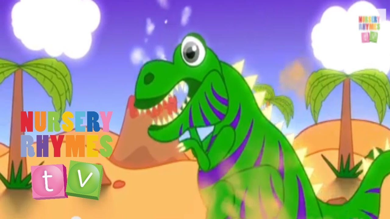The Dinosaur Song New Nursery Rhymes