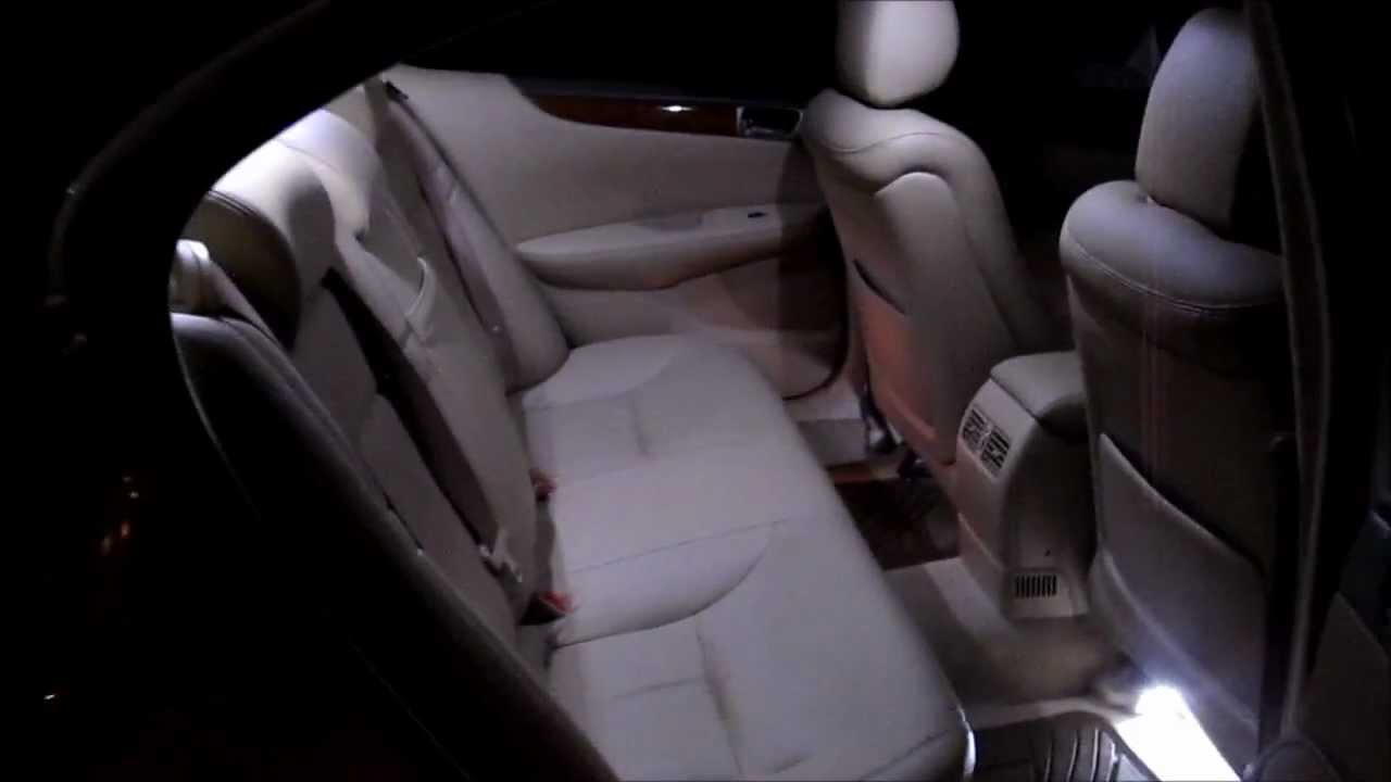 How To Install Led Lexus Interior Lights Youtube 2005 Rx330 Specs