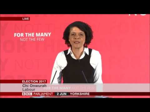 Chi Onwurah introduces Labour's industrial strategy