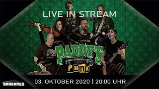 Paddys Punk - Live Stream im Bandhaus Leipzig   03.10.2020