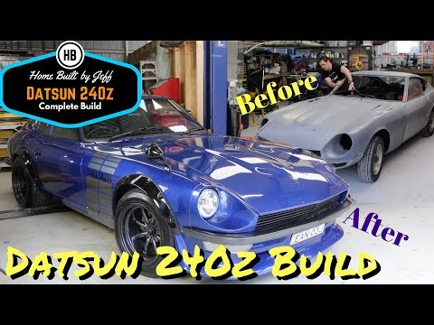 Abandoned Datsun 240z Project Complete Rebuild