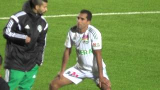 Berkane vs Raja 1 - 1 , حركة حمزة بورزوق بين شوط المباراة