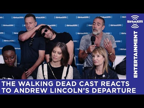 The Walking Dead Cast on Andrew Lincoln's Departure