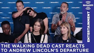 the walking dead cast shares thoughts on andrew lincolns departure