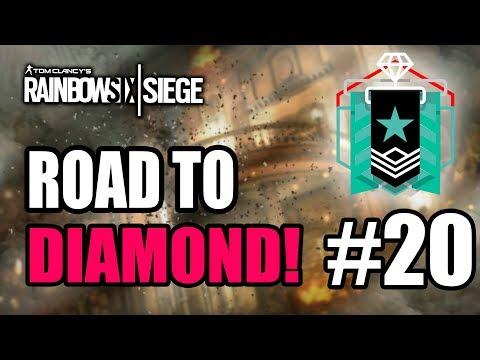 RAINBOW SIX SIEGE | ROAD TO DIAMOND! #20 LA ÚLTIMA PARTIDA - GAMEPLAY ESPAÑOL | DRID