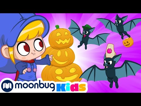My Magic Pet Morphle - HALLOWEEN: The bats of Halloween!   Full Episodes   Funny Cartoons for Kids
