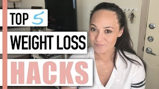 5 Weight Loss Hacks You've NEVER HEARD Before