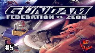 MY FIRST VERY HARD MISSION | Mobile Suit Gundam: Federation VS. Zeon Part 5