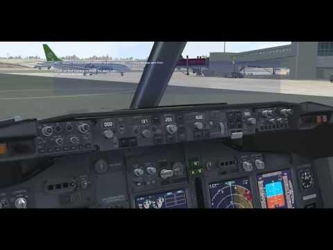 FSX- PMDG 737-800W Ryanair- Stansted(EGSS)/Larnaca(LCLK)