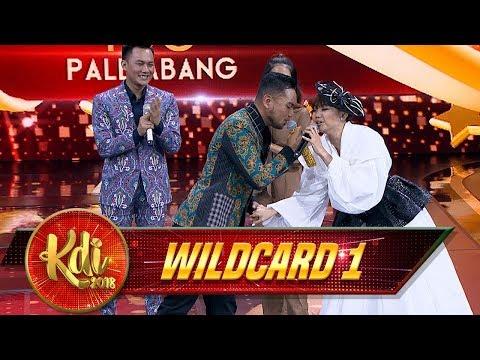 Asyik! Cinta Kita Selalu [SYAHDU] Ya Fakhrul Razi & Rina Nose - Gerbang Wildcard 1 (3/8)