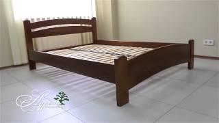 Как собрать двуспальную кровать из бука Аурель Милана люкс(Кровать с элегантным изогнутым изголовъем и изножъем Милана, производиться из массива натурального высоко..., 2015-03-25T13:30:35.000Z)