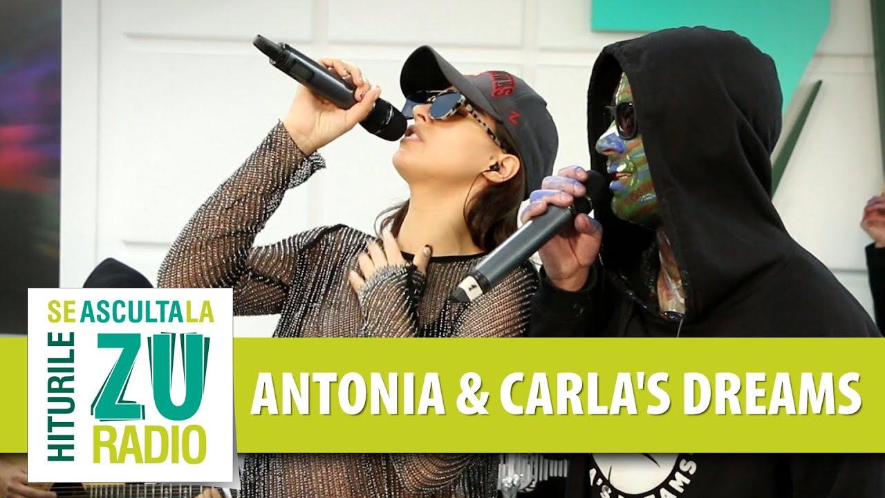 Antonia feat. Carla's Dreams - Suna-ma (Live la Radio ZU)