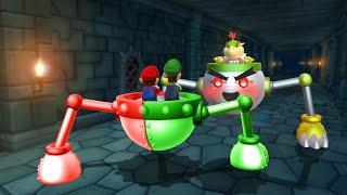Mario Party 9 MiniGames - Mario Vs Luigi Vs Yoshi Vs Kamek (Master Difficulty)
