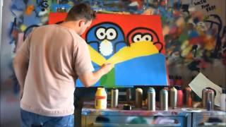 kleurrijk schilderij - Art 4 Dummies