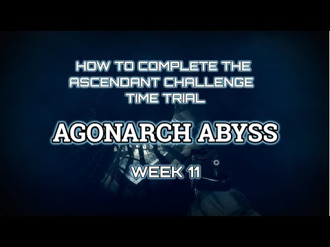 Destiny 2: How to complete the Ascendant Challenge Time trial week 11: Agonarch Abyss