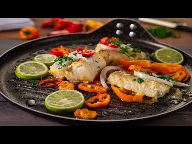 Filete de Bacalao con Adobo Goya con Limón