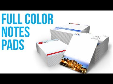 Note Pads Printing Services San Antonio 210-202-1800