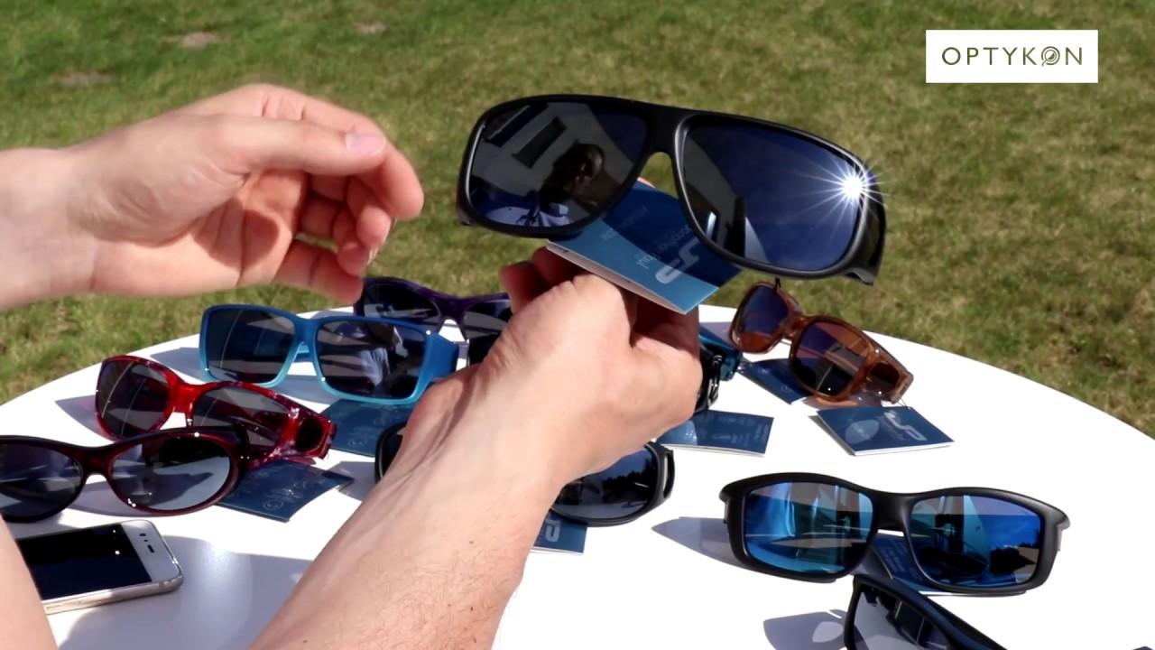 660085baf3073c Okulary przeciwsłoneczne nakładane na okulary korekcyjne - YouTube