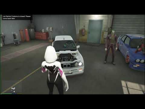 Araba Modifiye Kapışması Örümcek Ane Joker Venom Batman Hulk Örümcek Adam Deadpol.ÇİZGİ FİLM TADINDA