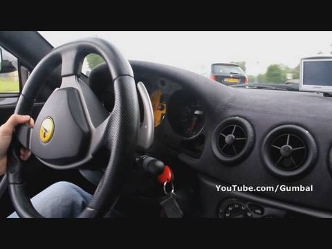 Ferrari 360 Challenge Stradale onboard + accelerations!! 1080p HD