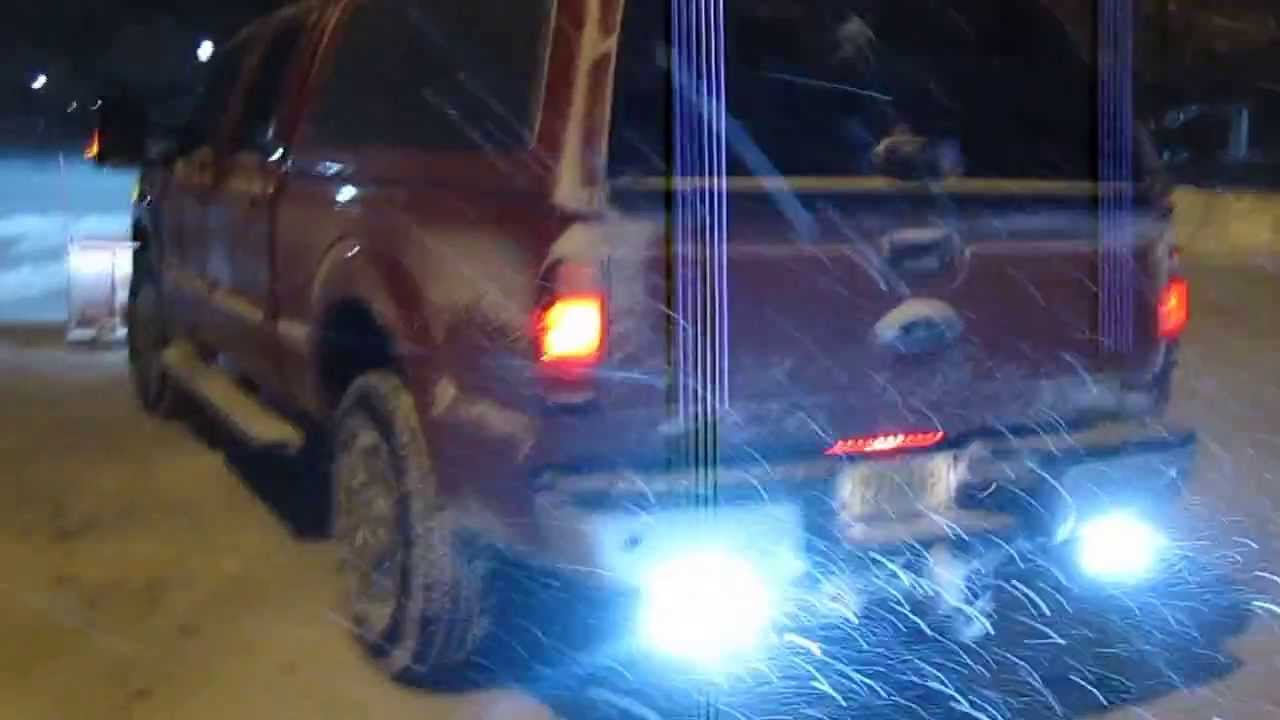 2013 Ford F350 With Western Pro Plow Warning Lights Youtube