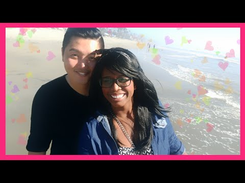 Vlog | Date Day at Oceanside Beach Part 2 | J Hearts J | AMBW Married Couple
