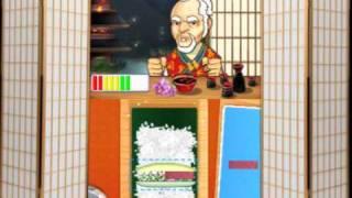 Sushi Academy de Nintendo DS Trailer