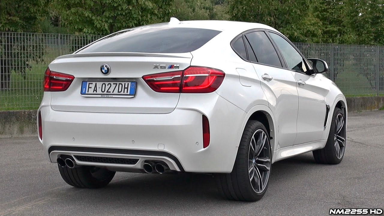 2016 BMW X6M F86 Exhaust SOUND - Accelerations, FlyBys, Launches, Revs & More!! - YouTube