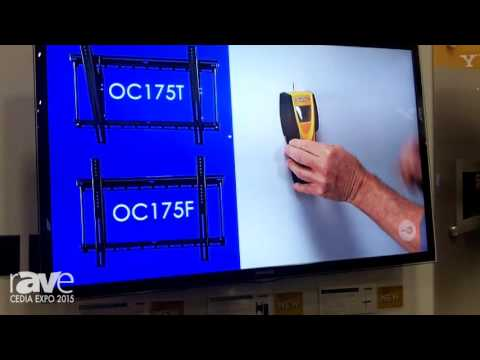 CEDIA 2015: OmniMount Features the OC80FM In-Wall TV Mount That Countersinks In the Wall