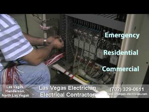 Las Vegas Electrician Electrical Contractor 702-329-0611