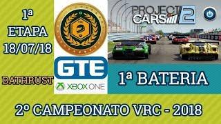 1ª Bateria da 1ª Etapa do 2º Campeonato VRC 2018 - GTE