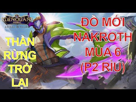 Thần rừng Nakroth phiên bản Đại chiến Clan - Cách lên đồ mới Nakroth Liên quân mobile P2