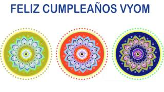 Vyom   Indian Designs - Happy Birthday