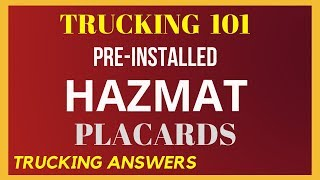 Hazmat Placard Quick Tip | Trucking Answers