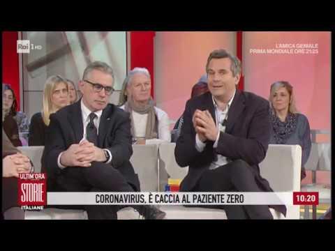 Coronavirus: è caccia al 'paziente zero' - Storie italiane 24/02/2020