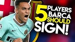 ONE Striker, TWO Centre-backs & TWO Midfielders! - Barcelona Transfer News & Targets (2019/20)