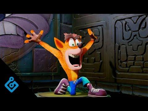 Crash Bandicoot N.  Sane Trilogy PSX 2016 Trailer