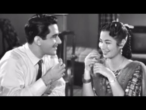 Shubha Khote Mocking Her Sibling - Grahasti Hindi Movie Romantic Scene